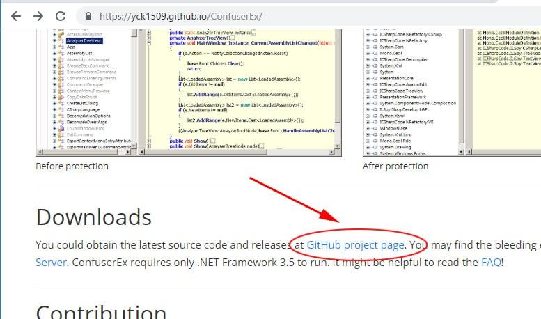 ConfuserExを使ってソースコードを難読化する